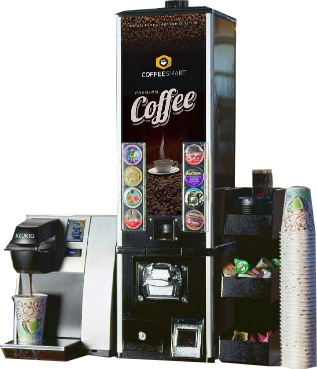 Coffee Smart K-Cup Vending Machine - Click Image to Close