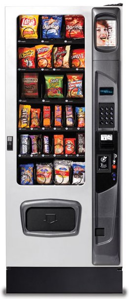 USI Mercato 3000 Snack Vending Machine