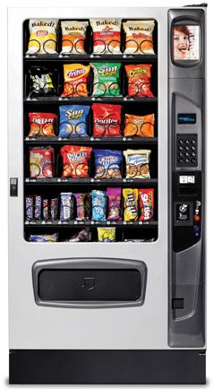USI Mercato 4000 Snack Vending Machine