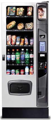 USI Alpine ST3000 Combo Vending Machine