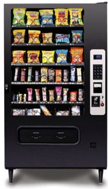 Ultimate 40 Snack Vending Machine - Click Image to Close