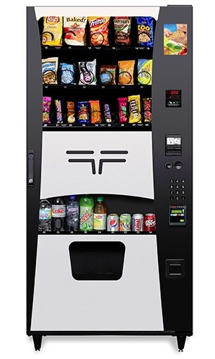 Ultimate Drink Snack Combo Vending Machine - Click Image to Close