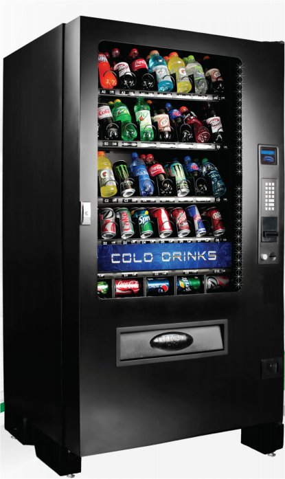 Seaga Infinity INF5B Drink Vending Machine