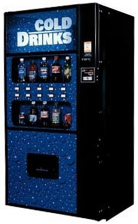 Royal 650 Live Product Drink Vending Machine
